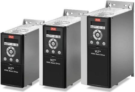 Преобразователь частоты Danfoss VLT HVAC Baisic Drive, частотный преобразователь VLT HVAC Baisic Drive, преобразователь частоты cерии Danfoss VLT HVAC Baisic Drive FC-101